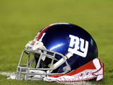 New York Giants - Sept 30, 2012: New York Giants Helmet