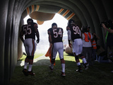Chicago Bears - Sept 9, 2012: Brian Urlacher, Lance Briggs, Julius Peppers