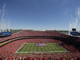 Kansas City Chiefs - Sept 9, 2012: Arrowhead Stadium