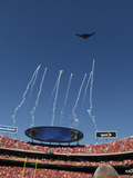 Kansas City Chiefs - Sept 9, 2012: Arrowhead Stadium Flyover