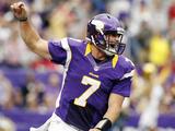 Minnesota Vikings - Sept 23, 2012: Christian Ponder