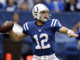 Indianapolis Colts - Sept 23, 2012: Andrew Luck