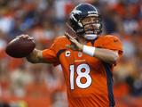 Denver Broncos - Sept 9, 2012: Peyton Manning