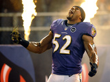 Baltimore Ravens - Sept 23, 2012: Ray Lewis