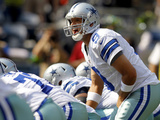 Dallas Cowboys - Sept 16, 2012: Tony Romo