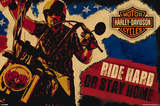 Harley Davidson - Ride Hard or Stay Home