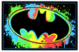 Batman Logo Blacklight