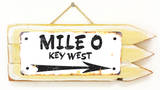 Mile 0 Key West Rusted