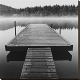 Arrow Dock, Salt Spring Island Stretched Canvas Print
