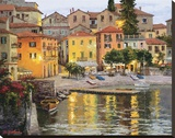 Buy Dusk Reflections Lake Como at AllPosters.com