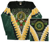 Long Sleeve: Grateful Dead - Gd Shamrock V-dye