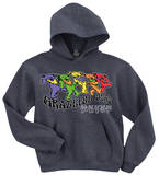 Hoodie: Grateful Dead - Trippy Bears