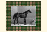 Equestrian Plaid I Art Print