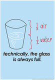 Glass is Always Full Poster