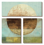 The Gathering Shore Canvas Art Set