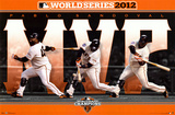Pablo Sandoval - San Francisco Giants 2012 World Series MVP San Francisco Giants vs. Detroit Tigers World Series Match-up Composite
