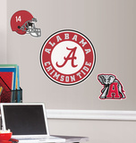 University of Alabama Peel & Stick Wall Giant Wall Decals