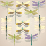 Floating Dragonflies II