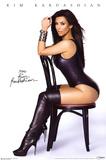 Kim Kardashian Chair Poster