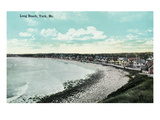 York Beach, Maine - Long Beach Scene