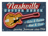 Nashville, Tennessee - Guitar Shack