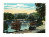 Cleveland, Ohio - Brookside Park and Lake Scene