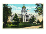 Denver, Colorado - Exterior View of the Capitol Building