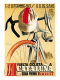 Bicycle Racing Promotion Art Print