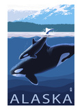 Alaska - Orca and Calf