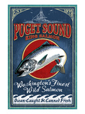Bellingham, Washington - Salmon