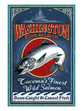 Tacoma, Washington - Salmon