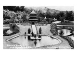 Hollywood, California - Bernheimer Residence, Sacred Bridge and Pogoda of Nara Photo