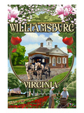 Williamsburg, Virginia - Montage Scenes