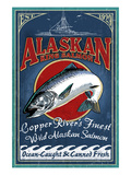 Copper River, Alaska - Salmon