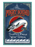 Seattle, Washington - King Salmon
