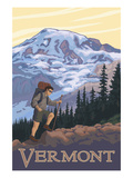 Buy Vermont Mountain Hiker at AllPosters.com