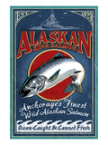 Anchorage, Alaska - Salmon