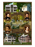Buy Concord, Massachusetts - Authors of Concord at AllPosters.com