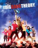 Big Bang Theory - Season 5 Mini Poste Big Bang Theory Sheldon Bazinga Television Poster I Love Science (Milky Way) Big Bang Theory Group Lifesize Standup big bang theory