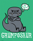 David & Goliath – Grumposaur Mini Poster