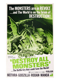 Destroy All Monsters, (AKA 'Kaiju Soshingeki', the Original Japanese Title), 1968