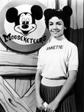 The Mickey Mouse Club, Annette Funicello, 1955-59