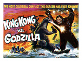 King Kong vs. Godzilla, The Battling Two Titans, 1963