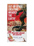 20 Million Miles to Earth, Bottom From Left: Joan Taylor, William Hopper, 1957