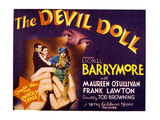 The Devil Doll, Frank Lawton, Maureen O'Sullivan, Jean Alden, 1936