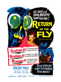 Return of the Fly, Danielle Demetz, Vincent Price, Danielle Demetz, 1959