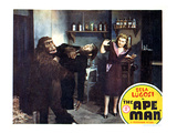 The Ape Man, From Left: Emil Van Horn, Bela Lugosi, Louise Currie, 1943