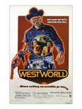 Westworld, Yul Brynner, James Brolin, Richard Benjamin, 1973