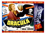 Dracula, From Left, Helen Chandler, Edward Van Sloan, Bela Lugosi, 1931