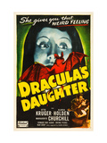 Dracula's Daughter, Top: Gloria Holden, Bottom Right From Left: Otto Kruger, Gloria Holden, 1936